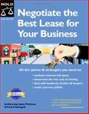Negotiate the Best Lease for Your Business, Fred S. Steingold and Janet Portman, 1413302165