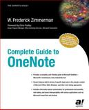 Complete Guide to OneNote, W. Frederick Zimmerman, 1590592166
