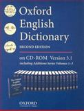 Oxford English Dictionary : Single User Version, , 0195222172