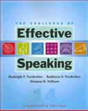 The Challenge of Effective Speaking, Verderber, Kathleen S. and Sellnow, Deanna D., 0495502170