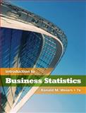 Business Statistics, Weiers, Ronald M., 053845217X
