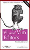 Vi and Vim Editors Pocket Reference : Support for Every Text Editing Task, Robbins, Arnold, 1449392172