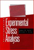 Experimental Stress Analysis, Dally, James W., 0070152187