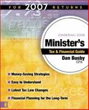 Zondervan Minister's Tax and Financial Guide : For 2007 Returns, Busby, Dan, 0310262186
