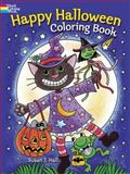 Happy Halloween Coloring Book, Susan T. Hall, 0486492184