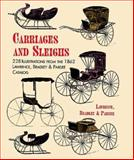 Carriages and Sleighs, Lawrence, Bradley and Pardee Staff, 0486402193