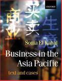 Business in Asia-Pacific : Text and Cases, El Kahal, Sonia, 0198782195