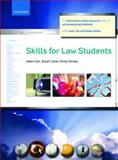 Skills for Law Students, Carr, Helen and Carter, Sarah, 0199532192