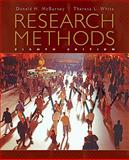 Research Methods, McBurney, Donald H. and White, Theresa L., 0495602191