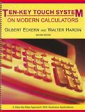 Ten-Key Touch System on Modern Calculators, Eckern, Gilbert and Eckern, Gilbert, 0898632196