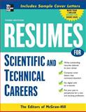 Resumes for Scientific and Technical Careers, , 0071482199