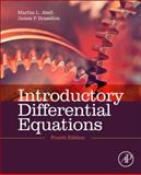 Introductory Differential Equations, Abell, Martha L. and Braselton, James P., 0124172199