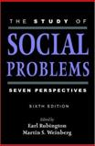 The Study of Social Problems : Seven Perspectives, , 0195142195
