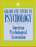 Graduate Study in Psychology, 2013 Edition, American Psychological Association, 1433812207