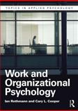 Organizational and Work Psychology, Cooper, Cary and Rothmann, Ian, 1848722206