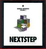 NeXTstep General Reference : Release 3, Next Computer Inc. Staff, 0201622203