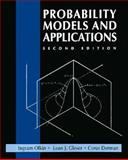 Probability Models and Applications, Olkin, Ingram and Gleser, Leon J., 002389220X
