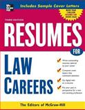 Resumes for Law Careers, , 0071482202