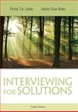 Interviewing for Solutions, De Jong, Peter and Kim Berg, Insoo, 111172220X