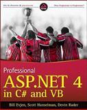 Professional ASP.NET 4 in C# and VB, Bill Evjen and Scott Hanselman, 0470502207