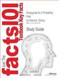 Studyguide for a Probability Path by Sidney Resnick, Isbn 9780817640552, Cram101 Textbook Reviews and Resnick, Sidney, 1478422203
