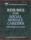 Resumes for Social Service Careers 9780658002205
