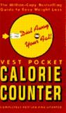 Vest Pocket Calorie Counter, Walden R. Williams, 0385412207