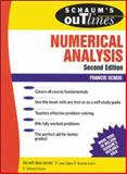 Schaum's Outline of Numerical Analysis, Scheid, Francis, 0070552215