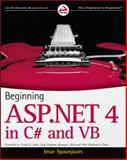 ASP.NET 4.0, Imar Spaanjaars, 0470502215