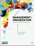Management and Organisation : A Critical Text, Linstead, Stephen and Fulop, Liz, 0230522211