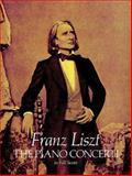 The Piano Concerti in Full Score, Franz Liszt, 0486252213