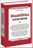Disabilities Sourcebook, , 0780812220