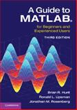 A Guide to MATLAB : For Beginners and Experienced Users, Hunt, Brian R. and Lipsman, Ronald L., 1107662222