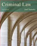 Cengage Advantage Books: Criminal Law, Samaha, Joel, 1285062221