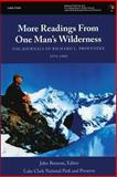 More Readings from One Man?s Wilderness: the Journals of Richard L. Proenneke, 1974-1980, U. S. Department of the Interior National Park Service, 1484162234