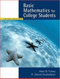 Basic Mathematics for College Students (with CD-ROM and iLrn Tutorial), Tussy, Alan S. and Gustafson, R. David, 0534422233