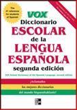 VOX Diccionario Escolar, Vox Staff, 0071772235