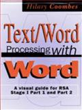 Text Word Processing with Word Stage, Coombes, Hilary, 0333662237