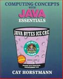 Computing Concepts with JAVA Essentials, Horstmann, Cay S., 0471172235