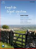 English Legal System Directions, Wilson, Steve and Mitchell, Rebecca, 0199592241