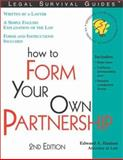 How to Form Your Own Partnership, Edward A. Haman, 1572482249