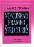 Theory and Analysis of Nonlinear Frames Structures 9780131092242
