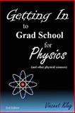 Getting in to Grad School for Physics, Vincent Klug, 1499732244