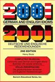 2001 German and English Idioms, Henry Struts, 0764142240