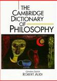 The Cambridge Dictionary of Philosophy, , 0521402247