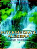Intermediate Algebra through Applications, Akst, Geoffrey and Bragg, Sadie, 0201312247