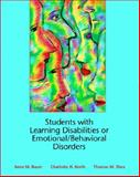 Students with Learning Disabilities or Emotional/Behavioral Disorders 9780130212252