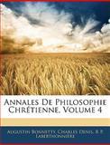 Annales de Philosophie Chrétienne, Augustin Bonnetty and Charles Denis, 1145352251