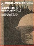 A Programmed Review of Engineering Fundamentals, Baldwin and Hess, 1475712251