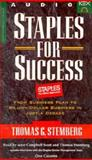 Staples for Success, Busch, David D. and Stemberg, Thomas G., 1888232250